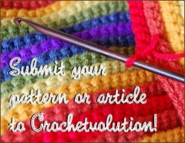 submit patterns and articles to crochetvolution