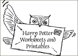 Harry Potter Worksheets and Printables