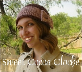 Sweet Cocoa Cloche