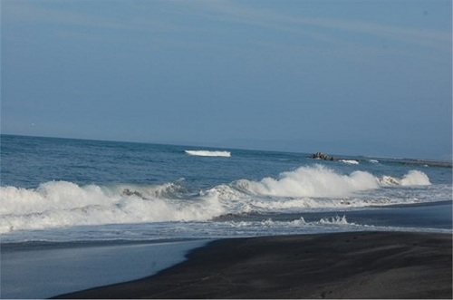 The ocean!