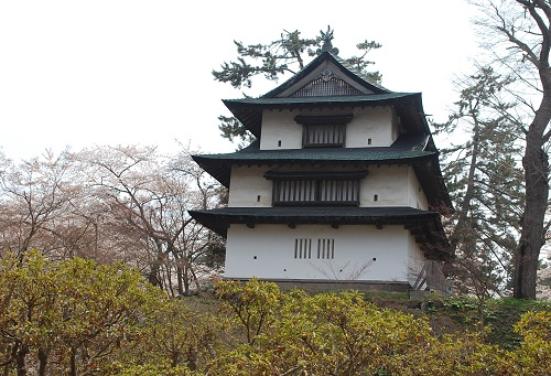An old Japanese castle