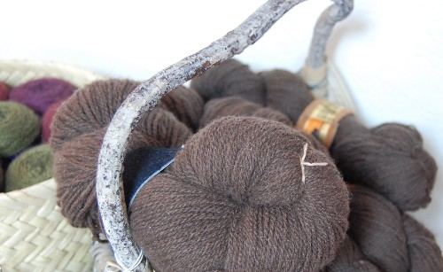buffalo and qiviut yarns