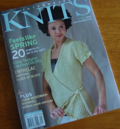 Interweave Knits Spring 2007