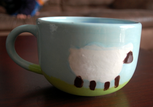 Most. Adorable. Mug. Ever.