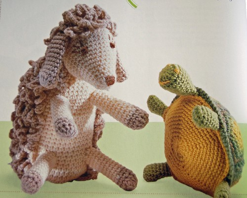 wooly lamb and turtle