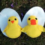 Felt Chick and Duck  all pattern