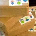 Mailing Packages with Stamps  all pattern