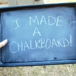 Magnetic Chalkboard Trays  all pattern