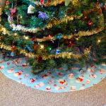 4 Dollar, 5 minute Tree Skirt  all pattern
