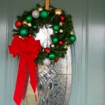 Ornament and Pine Wreath  all pattern