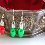 Christmas Bulb Earrings  all pattern