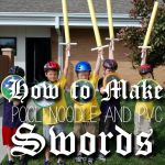 Pool Noodle and PVC Swords  all pattern