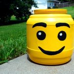 Lego Head Container  all pattern