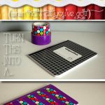 Duct Tape Covered Notebook  all pattern