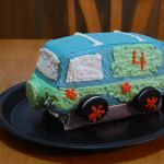 Mystery Machine Cake  all pattern
