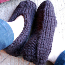 Simple Man Slippers by Melissa Mall