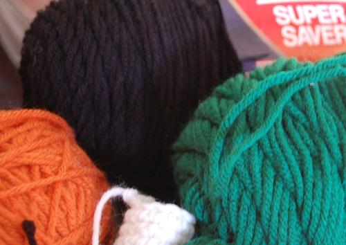 Playing with yarn again!