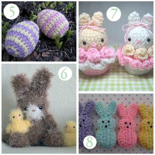 Easter Crochet Patterns For Beginners : CROCHET PATTERNS FOR EASTER BASKETS - Crochet Club