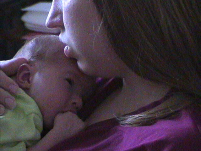 Me and my first baby. :)