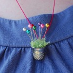 Pincushion Necklace – from a Thimble!