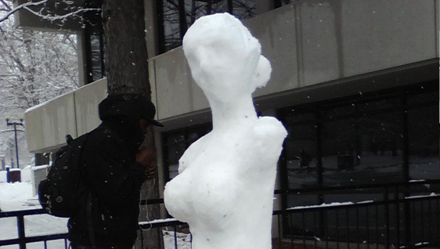 Snow Sculpture from BonBonanza