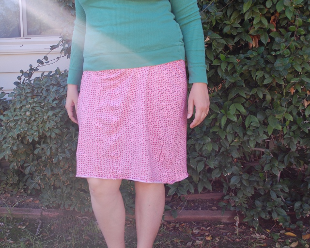 It's pajamas! It's a skirt! It's pajama skirts!