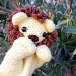 Cuddly Lion Puppet