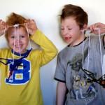 What cute kids. :D