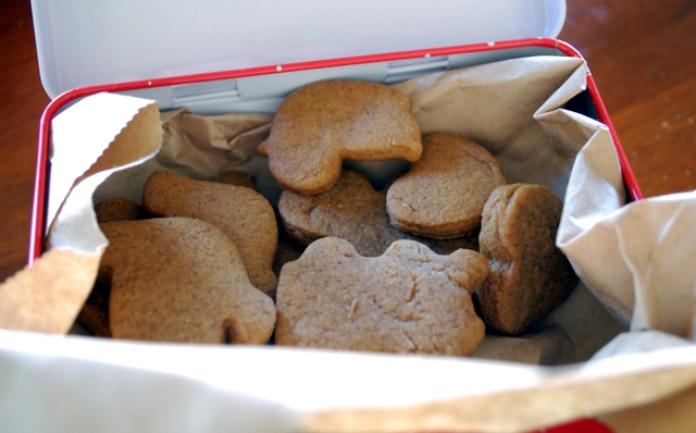 Mmm. I need to make more gingerbread.