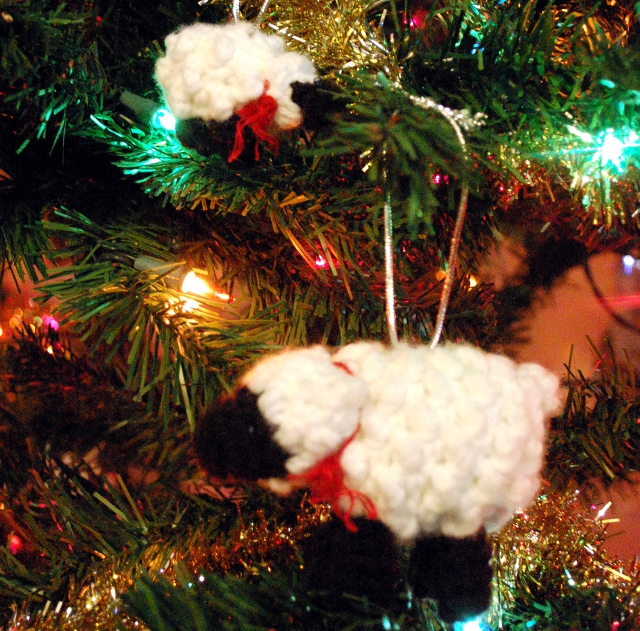 Sheep and Lamb Ornaments