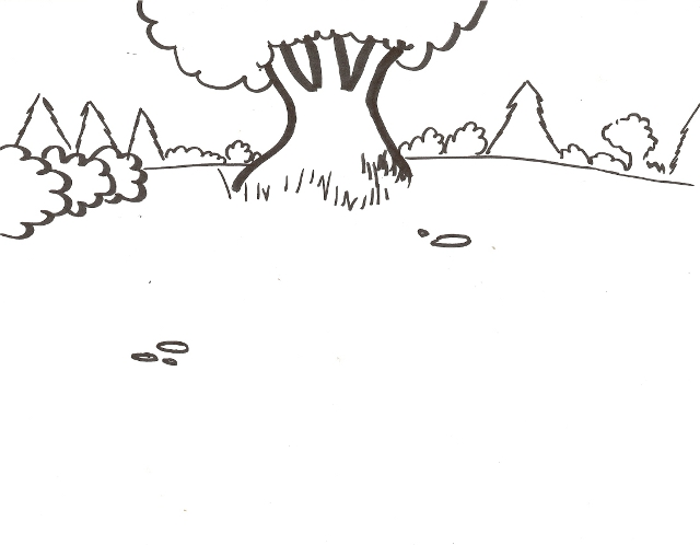coloring pages, my scene - photo#29