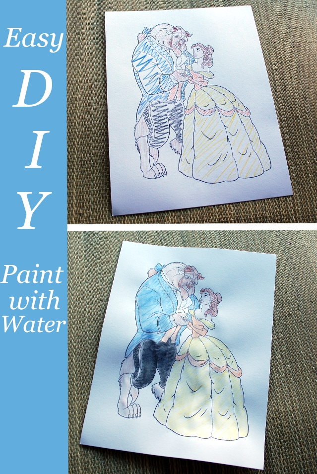 Easy DIY Paint with Water