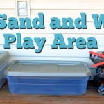 $27 Sand and Water Play Area