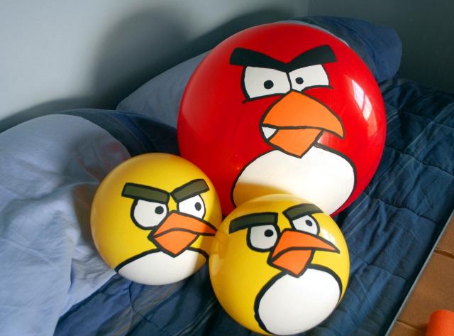 Angry balls are angry.