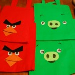 Angry Birds tote bags!
