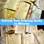 Refresh Your Coloring Books in Minutes
