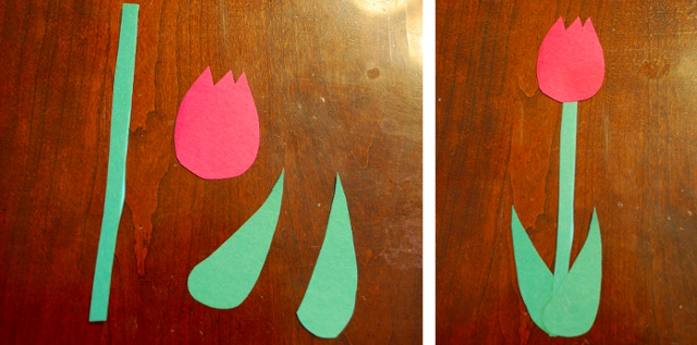 How to Make Paper Tulips and Other Flowers