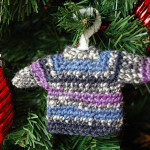 Crochet Uncut and a Mini Sweater Ornament