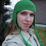 Kirsten (Tasseled Earflap Hat)