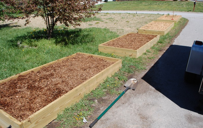 How to Build Simple Raised Garden Beds