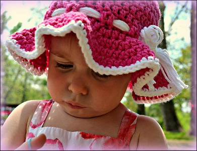 Toddler Sunhat from Stitch11