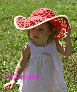 Belmont Sun Hat from KatiDCreations