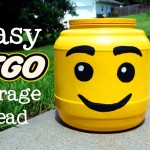 Easy Lego Head Container