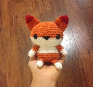 Amigurumi Fox from Spool of Sunshine