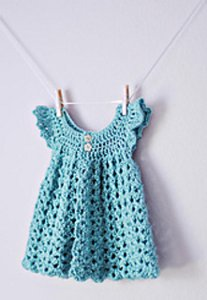 Angel Wings Pinafore from Bev's Country Cottage