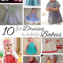 10 Free Dresses to Crochet for Babies