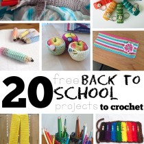 20 Free Back to School Projects to Crochet