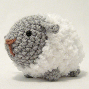 Fluffy Sheep from Ravelry