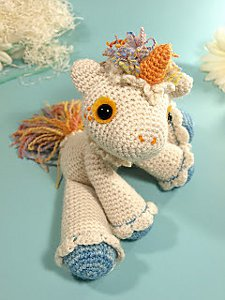 Hermione the Unicorn via Ravelry