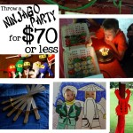 Throw a Ninjago Party for $70 or Less